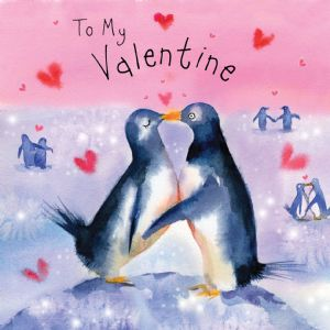 FIZ25 - Valentine Card Penguins